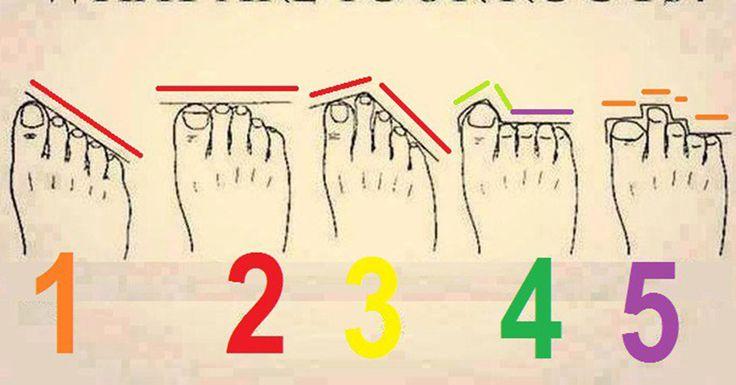 La lunghezza delle dita dei tuoi piedi rivela chi sei. Ecco come scoprirlo