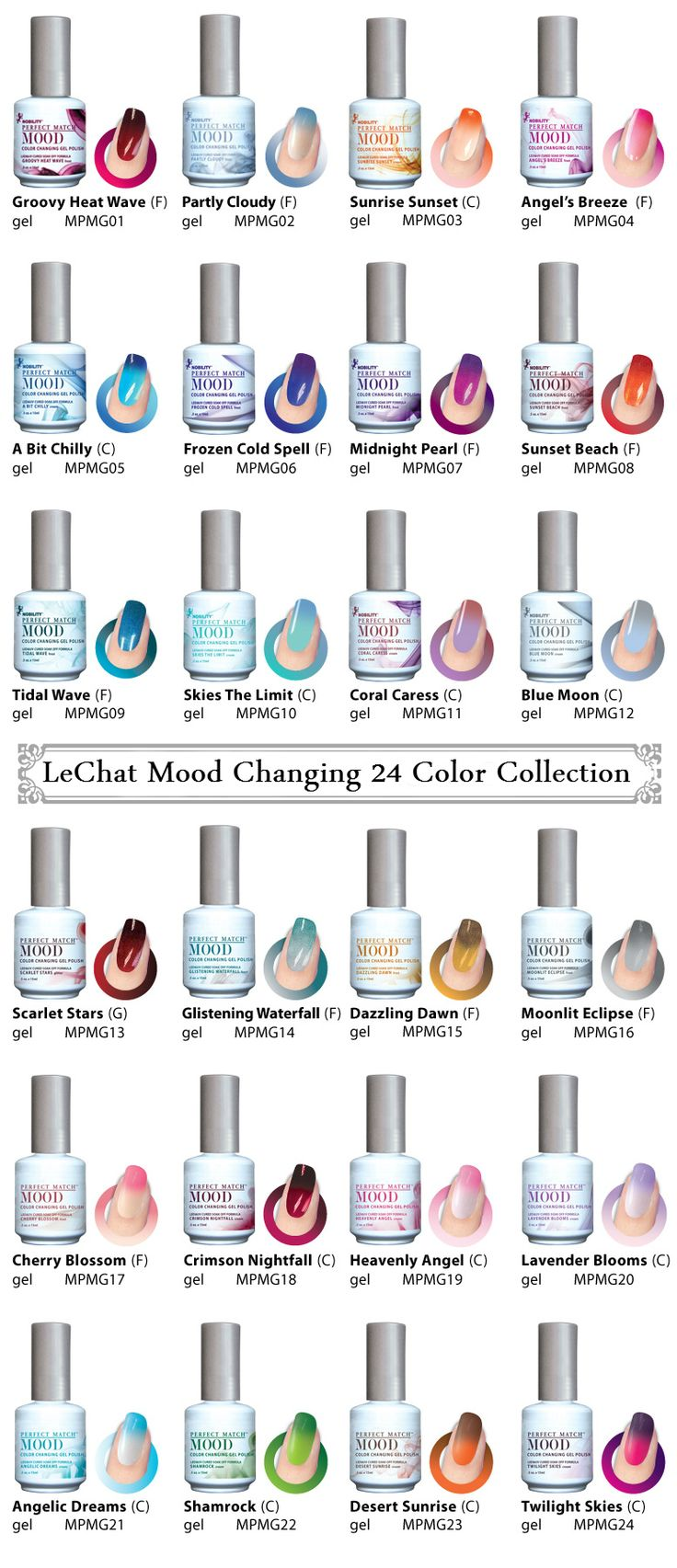 Opi Mood Changing Nail Polish Mood changing gel nail