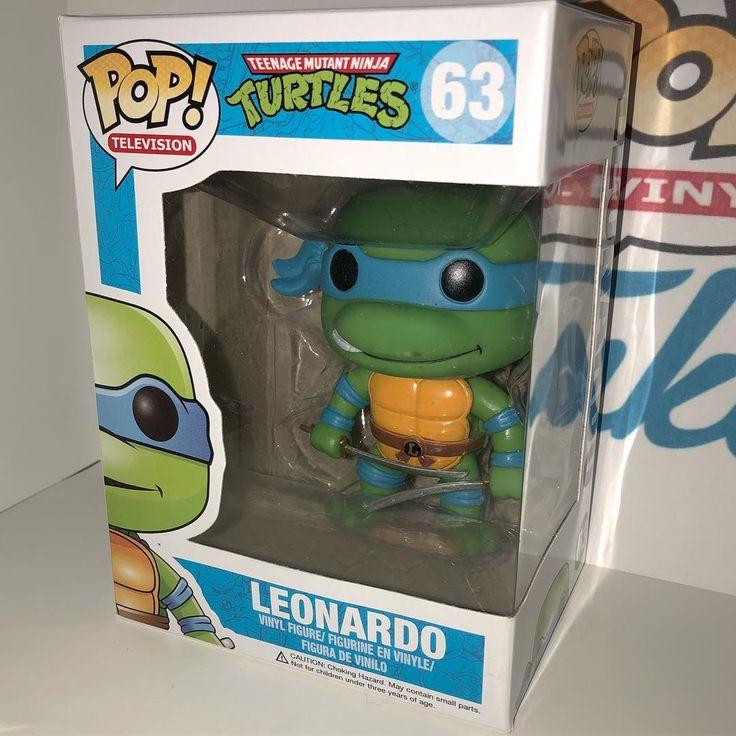 Teenage Mutant Ninja Turtles Leonardo #63 . #tmnt #funko #pop #funkopop #funkopoplife #funkopopcollector #teenagemutantninjaturtles #leonardo #tmntleo #tmntleonardo