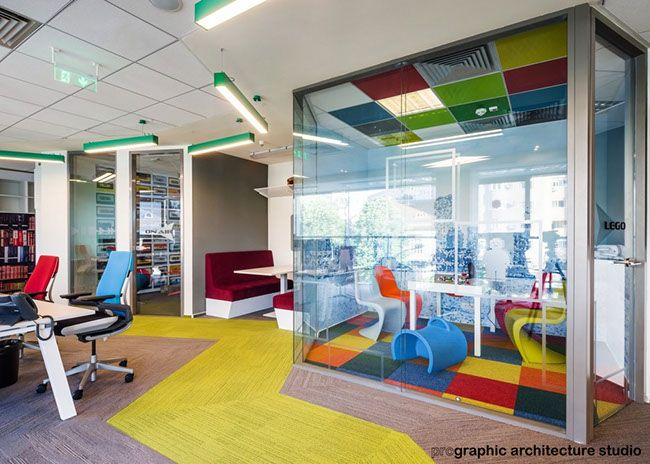 CBRE - collaboration areas for focused or group activities