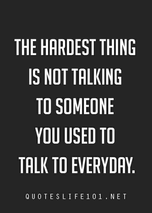 especially when it was such a habit and you forget and text them out of the blue.