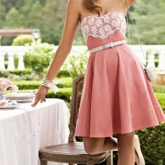 romantic cocktail dress