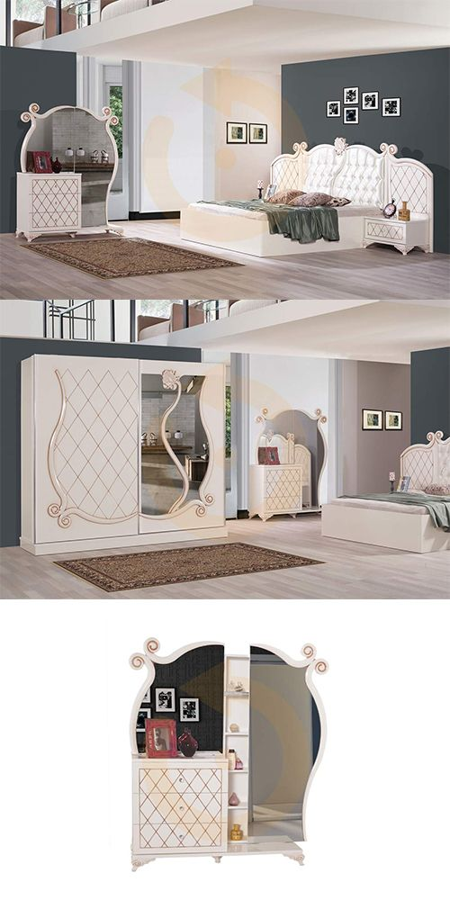 Gül gibi açacak yatak odalarınız için Rose Yatak Odası takımı Mobilyam Online farkı ile satışta!