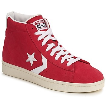 Converse PRO LEATHER SUEDE MID Rouge  http://www.spartoo.com/Converse-PRO-LEATHER-SUEDE-MID-x161272.php