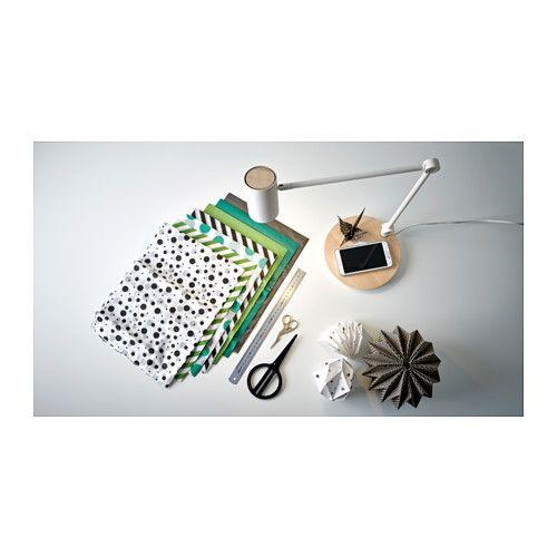 RIGGAD Work lamp with wireless charging  - IKEA