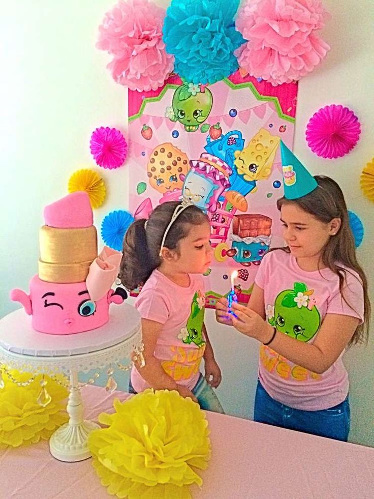 Shopkins Birthday Party Ideas | Photo 3 of 25 | Catch My Party
