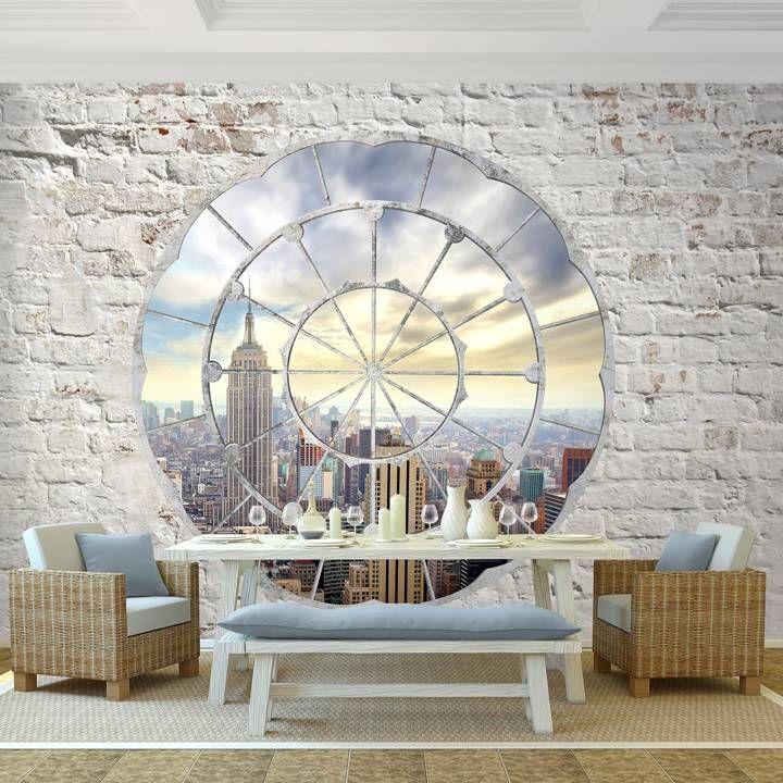 Die besten 25+ Wandgestaltung in steinoptik Ideen auf Pinterest - backstein tapete wohnzimmer