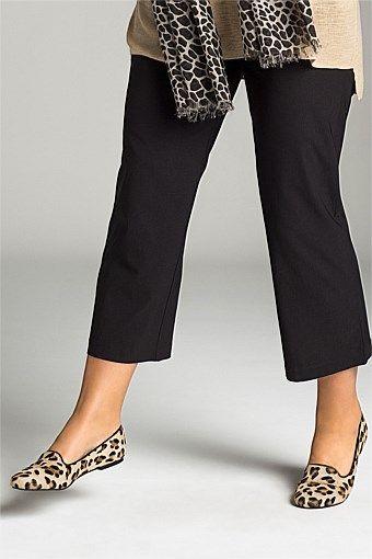 Women's Pants - Sara 3/4 Pull-On Pants - EziBuy Australia