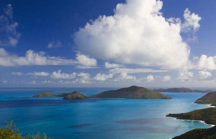 Beautiful shot from Tortola, British Virgin Islands.