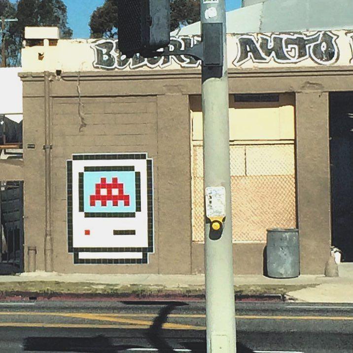 Shared by lastreetartgallery #spaceinvader #unas (o) http://ift.tt/1QgEguW to see @invaderwashere back up on Beverly!  _____________________________________________ #streetart #losangeles #space #invader #art #streetartist #graf #urbanart #rsa_graffiti #rsa_preciousjunk #rsa_streetview #dsb_graff #artist #arte #arteurbano #royalsnappingartists #tv_streetart #infamous_family #igla #igersla #LA #mosaic #tile  (at Beverly Auto Body)  Follow @locoliinda on Instagram or…