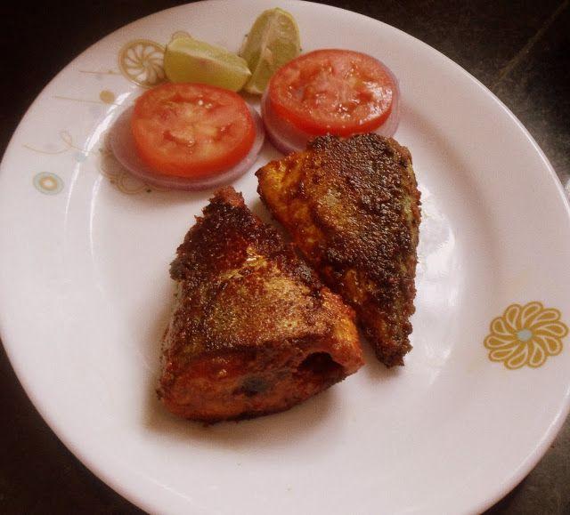 Cherie's Stolen Recipes: bangude masala fry-mackerel fry