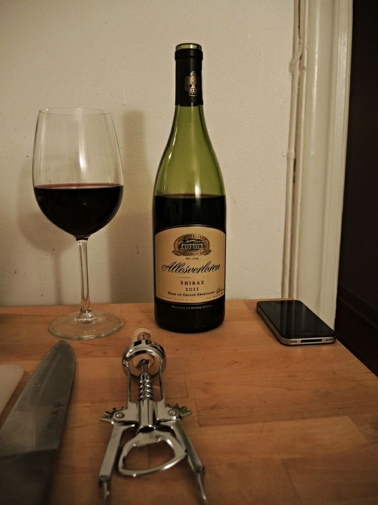 Allesverloren - All is Lost : A fullbodied South African Shiraz to enjoy to a hearty meal. Very tasty, balanced fruitiness.