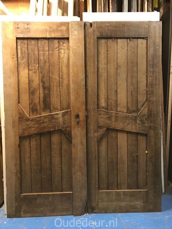nr. set528 set hardhouten deuren