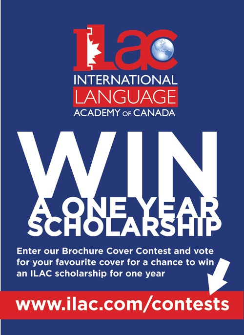 ILAC is giving away a one year scholarship for your votes