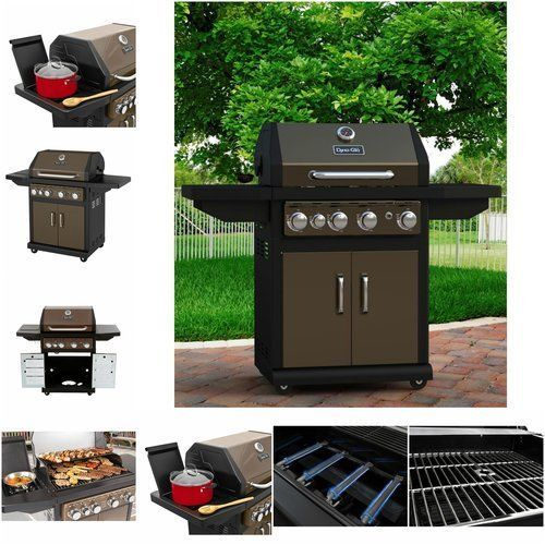 Propane-Gas-Grill-4-Burner-Outdoor-Cooking-Bbq-Backyard-Heavy-Portable-Stainless