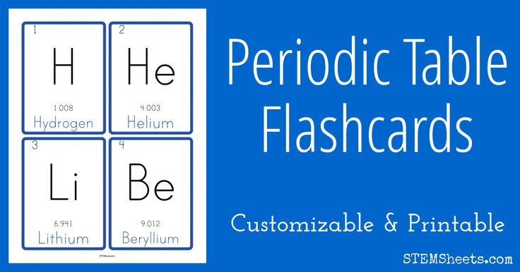 25 best ideas about atomic number on pinterest atomic periodic table flash cards printable periodic table