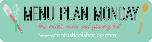 Fantastical Sharing of Recipes: Menu Plan Monday (on a Tuesday) - December 1, 2015...