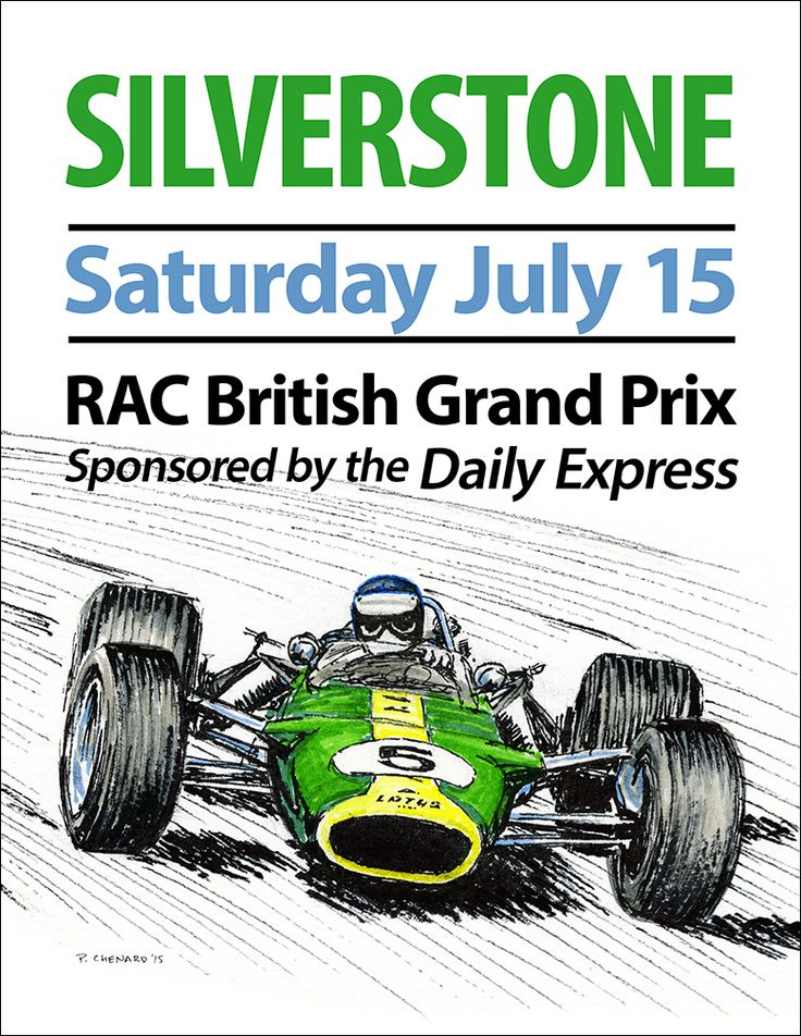326 best Grand Prix - British images on Pinterest | Posters, Formula ...