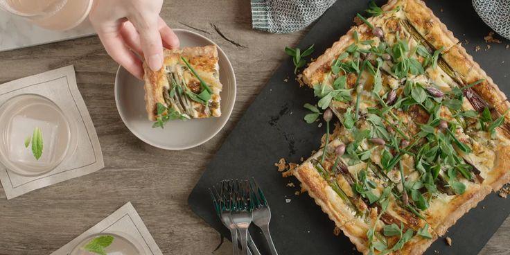 Recipe Ideas: Seasonal Vegetable Tart on Vimeo