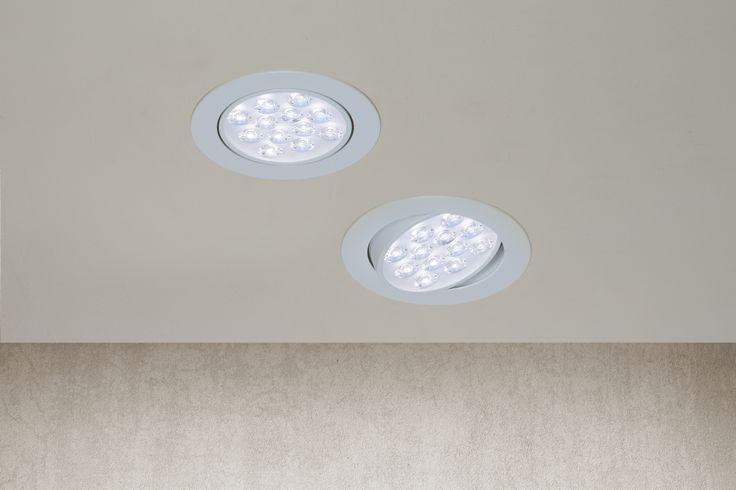 Los empotrables LED le darán a a tu hogar luz uniforme por mucho tiempo a un bajo costo.