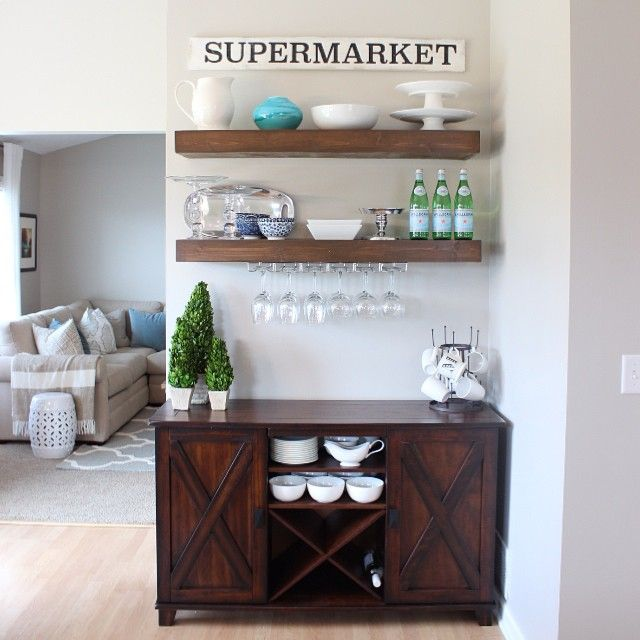 Ever since I saw on Fixer Upper that Jojo had a Supermarket sign in her kitchen…