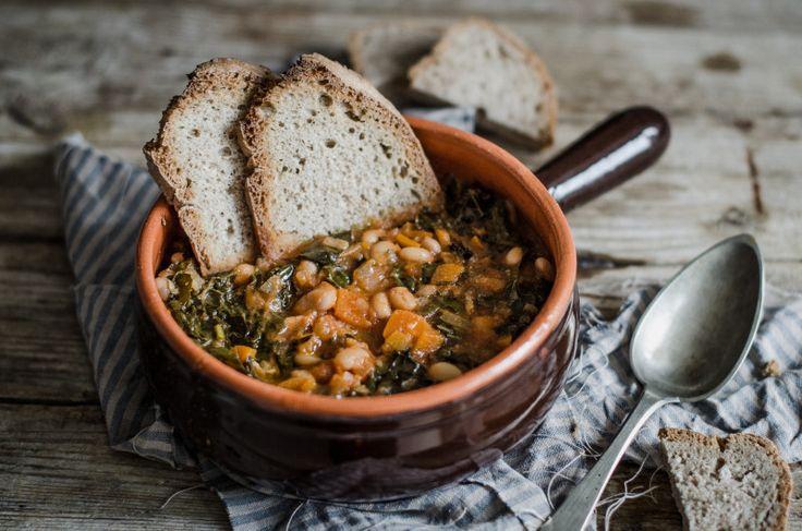 Ribollita-3, Ribollita toscana con la Crock Pot