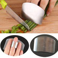 Guarda Dedo Protector do Corte Da Mão de Aço inoxidável Ferramenta Faca de Cozinha Fatia Seguro(China (Mainland))