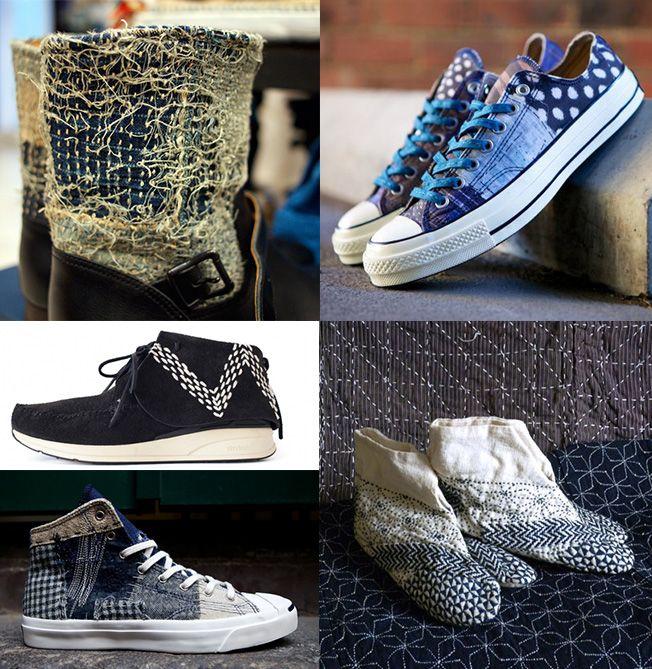 #denim #jeans #indigo Traditioneel Japans ambacht in hedendaags design