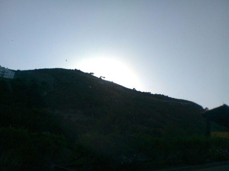 Sunrise on  day trip to Granada