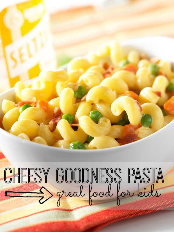 Delicious Cheesy Goodness Pasta Recipe that your kids will love (and can probably make themselves!)