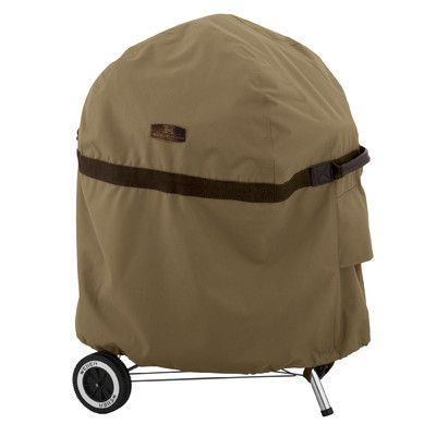 Classic Accessories Hickory Heavy-Duty Kettle BBQ Cover