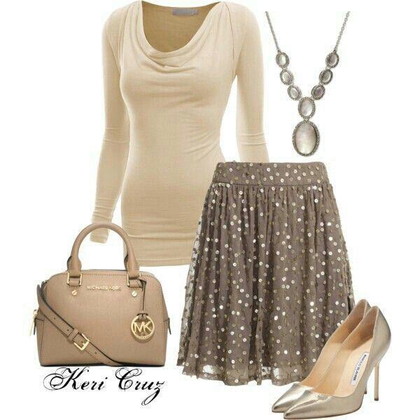 Modest Outfit cute skirt!