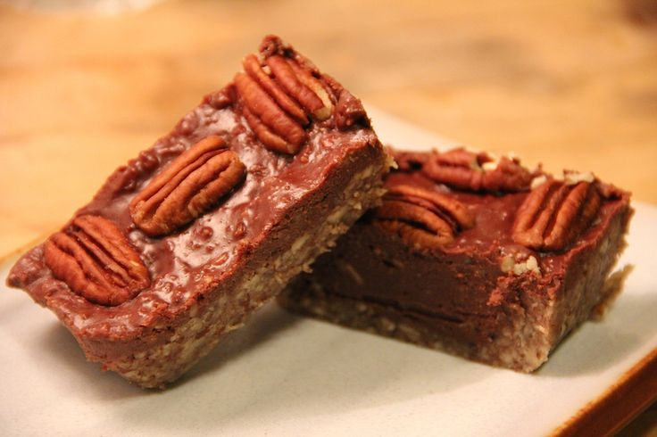 Raw Chocolate Pecan Pie