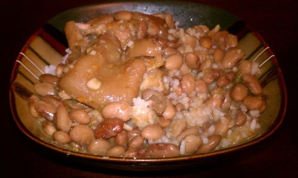 pigs feet stew recipe  food  southern recipes soul