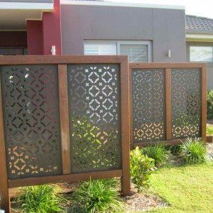 Outdoor Privacy Screen Idea For Backyard Deck , Attractive Privacy Ideas for Decks Giving Chic Backyard Look In Outdoor Category
