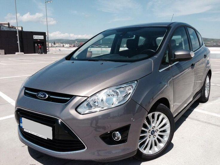 Ford Focus C-max 1.6 TDci, 115CP, cutie 6 viteze, Start / Stop key.