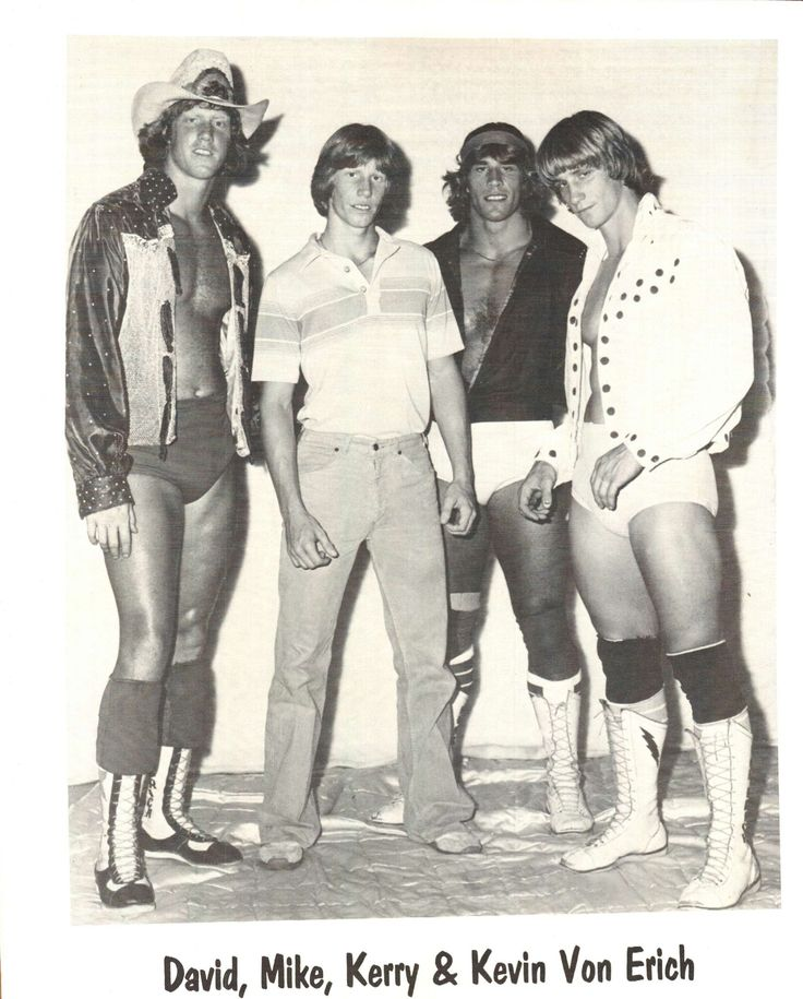 Von Erich brothers. I used to watch them on Saturday night TV    Michelle L Bedford, TX