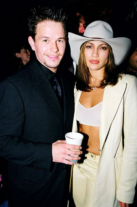 Mark Wahlberg and Jennifer Lopez in the 90s. The fact that they both look the exact same is RIDICULOUS.