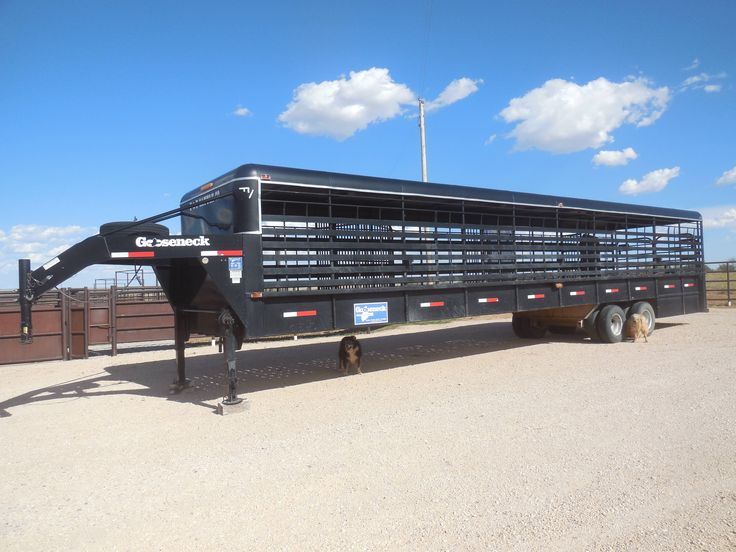40' Gooseneck Trailer for Sale - For more information click on the image or see ad # 36516 on www.RanchWorldAds.com