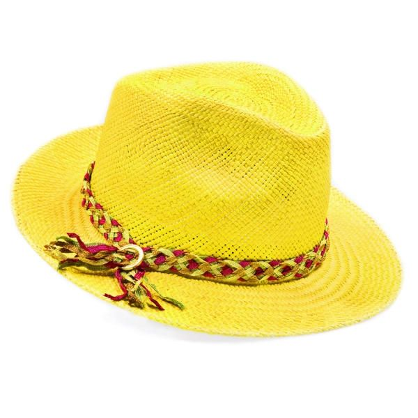 SUMMER * The Yellow Summer Hat | Mademoiselle Slassi