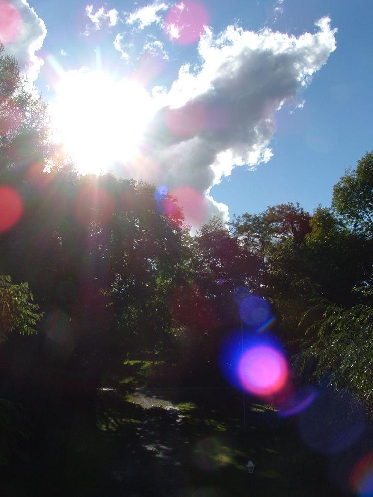 Summer clouds from Owen Sound, Ontario,Canada