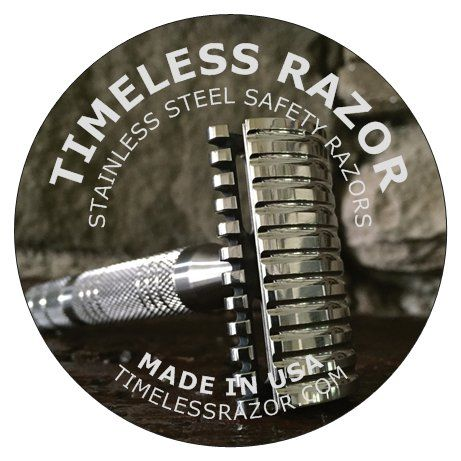 Get the best possible shave with a high quality stainless steel safety razor.  What is your face worth?