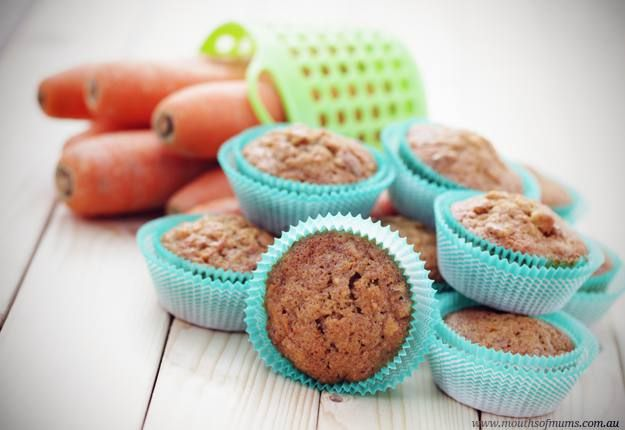 Banana, Carrot and Oat Muffin Recipe