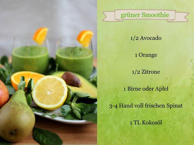 [Rezept] grüner Smoothie