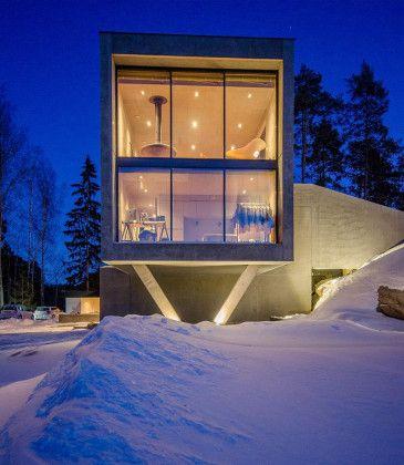 concrete-house-outside