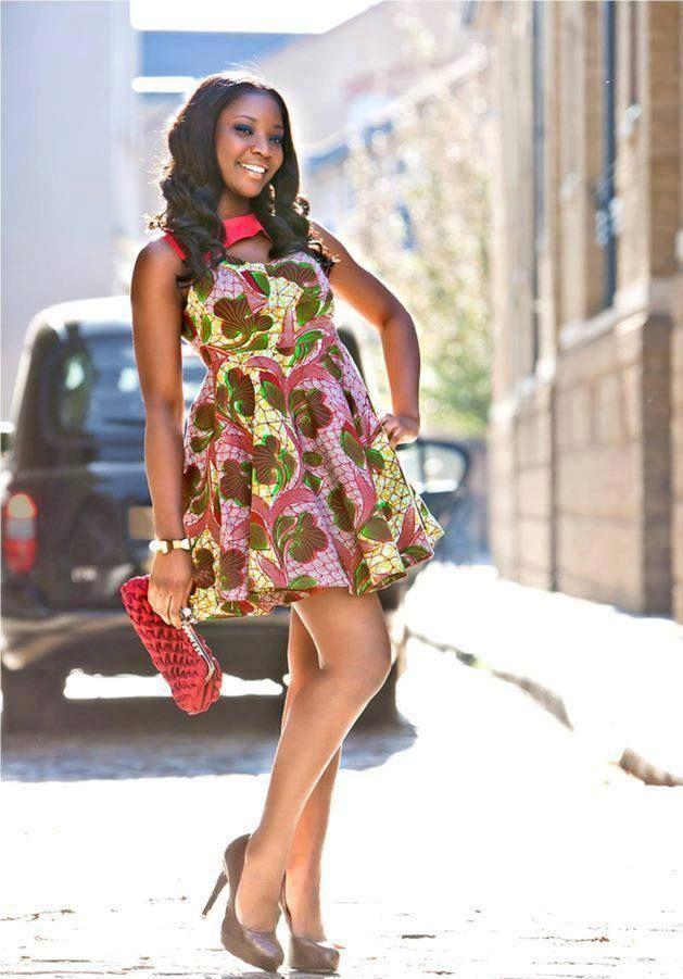 Une Robe Chic Kitenge Pinterest Chic And Robes