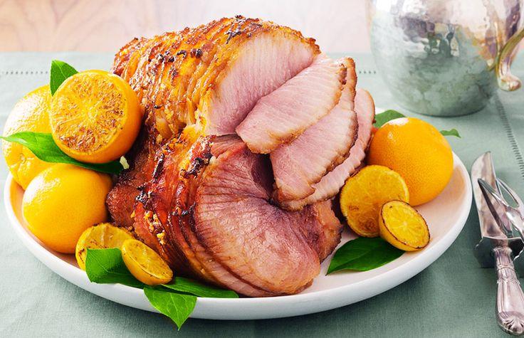 12 mouthwatering recipes for Easter brunch // Whiskey and honey glazed ham #easter #brunch #recipe: Glaze Hams, Brunch Recipe, Maine Dishes, Honeyglaz Hams, Stones Honey Glaz, Honey Glaze, Curtis Stones, Christmas, Honey Glaz Hams