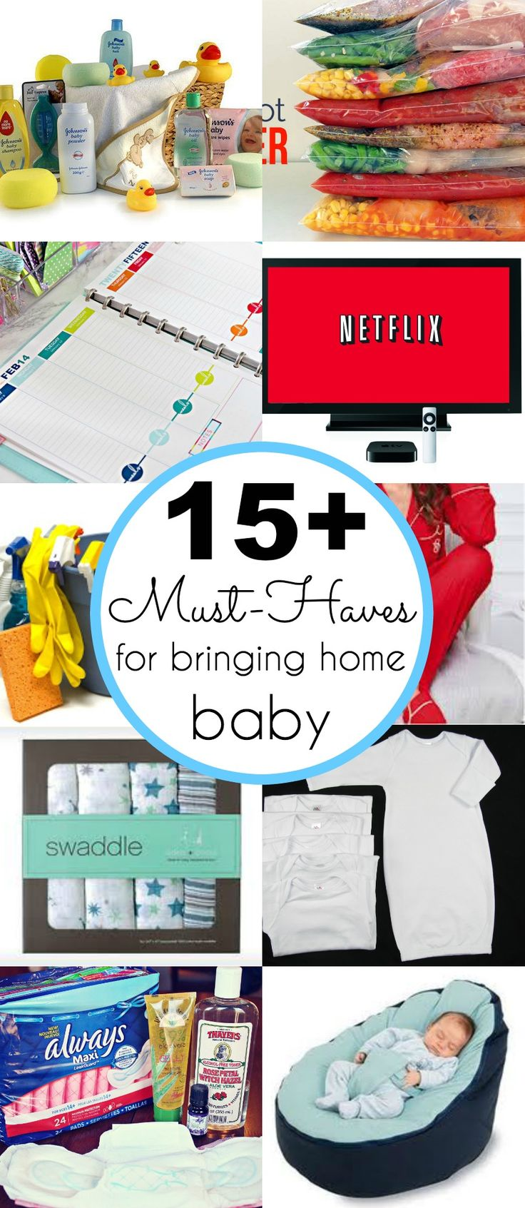 15+ Must-haves for bringing home baby - www.classyclutter.net