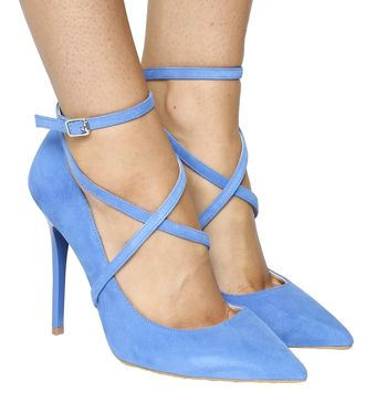 Get the perfect heeled look and walk tall in pretty pointed stiletto high heels, strappy heeled sandals or platforms. Next day delivery available.