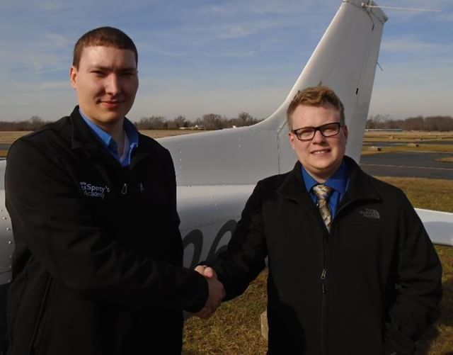 Dakota Baker earned his Single-Engine Commercial pilot certificate on February 18 2018. With his Commercial pilot certificate Dakota is now approved by the Federal Aviation Administration to fly aircraft for compensation. Dakota is enrolled in the Aviation Technology: Professional Pilot Program at the University of Cincinnati Clermont College. The laboratory portion of the Professional Pilot Program is taught by Sportys Academy at the Clermont County Airport in Batavia Ohio.  Dakota is…